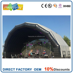 2015 Hot sale advertising event inflatable, inflatable stage cover inflatable marquee tent
