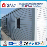 200mm wall and roof panel for Russia good insulation effect 20 ft modular container house