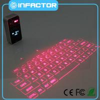 newest virtual laser bluetooth numeric keypad