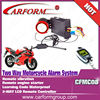 two way motorcycle alarm system with lcd Remote control Engine start CFMC08