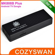 2015 Cheapest best MK808b plus android tv dongle miracast quad core