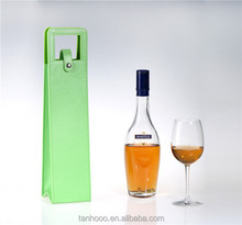High Quality Pu/Genuine Leather Wine Bag/Wine Carrier