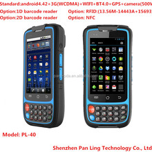 PL40 BD088 handheld 3G 4 inch touch screen Android mobile phone with wifi