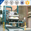 pjs 2 post 3 layer mini auto mechanical elevated car parking lift system