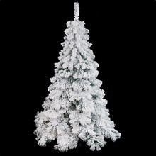 Wholesale 180cm white color snowing christmas tree