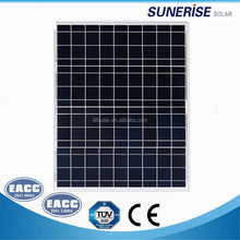 china factory 18v 36cells black poly module 40w solar panel
