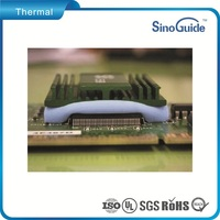 Electrically Isolating Electric Insulation Thermal Pad,Silicon Thermal Conductive Pad