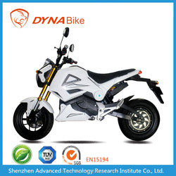 60V, 2200W Chinese fast electric beach cruiser Motorcycle with large LCD meter