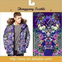 Top quality new pretty printing cotton interlock knit fabric