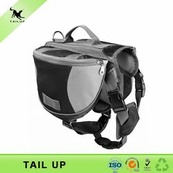 wholesale high quality outdoor dog hiking backpack dog food bag