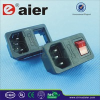 Ul approved electrical outlet/multiple socket/relay socket