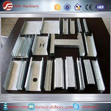 Drywall Galvanized Sheet Light Steel Profiles Metal Stud/Track Roll Forming Machine ud cd uw cw profiles