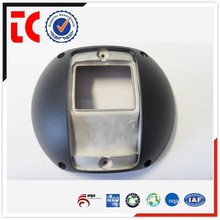 2015 Popular Black painted camera front cover for CCTV use / Aluminum die cast OEM in China