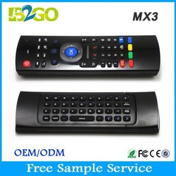 Wireless flexible keyboard and mouse MX3 Multi-function remote controller for android tv box