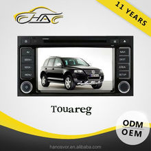OEM Special Car DVD Navigation For VW Touareg With Rear-view Camera/ Bluetooth Hand Free Call