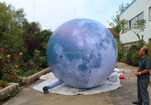 New desian 3M inflatable moon model/inflatable moon ball