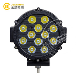 60W LED auto lighting 7inch 12V led driving lights for land rover defender off road vehicle