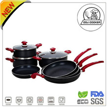 Aluminum Cookware Set/kitchenware and cookware as seen on tv products 2015