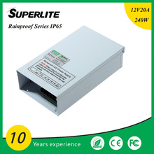 12v power supply 250W rainproof IP65