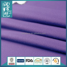 2015 new style purple lady clothing Polyester viscose Super types of fabric for pants