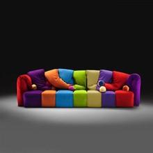 Bisini Modern Living Room Home Designer Furniture Fabric Sofa