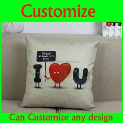 Modern design printed blank and white sofa cushion cover