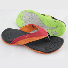 Hot sale fashion comfortable flip flops for women with pu upper tpr outsole