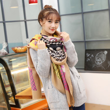 Factory OEM manufacture polyester/silk/wool jacquard/printting scarf