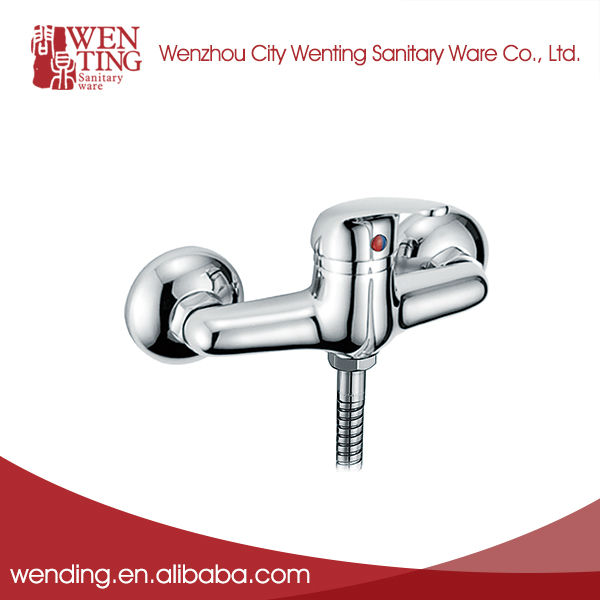 Single handle thermostatic upc shower faucet