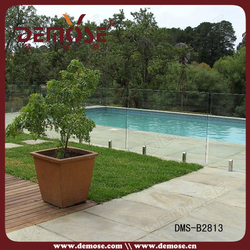 cheap glass child safety pool fence with high quality