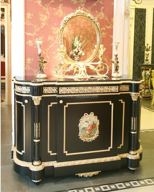 Luxe franse louis xv buffet dressoir kast vergulde/antieke ...