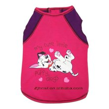 cute puppy pet (dog) cloth ,tank red
