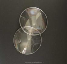 plastic magnifying lens,Plano convex lens 42mm diameter for DIY google cardboard VR