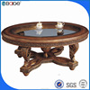 C-0090B antique tea table / cheap tea table /root carving tea table