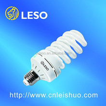 environmental protection compact fluorescent lamp 23w full spiral T4 high light efficiency no stroboscopic