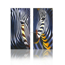 Abstract Zebra Animal Designs For Fabric Painting