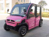 CE Approved 4 Wheels 4 Seats Cheap Chinese Smart Electric Vehicles