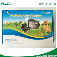 High Quality Large Outdoor Dog Fence Pet Electronic Fencing System