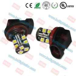 High quality 5050 smd 19 led auto light bulb h8 led canbus automotive fog light
