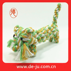 Small size cotton rope pocket run training pet sex toys for cat