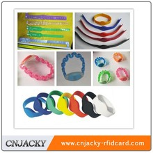 eliable rfid suppliers high quality waterproof silicone RFID wristband manufacture