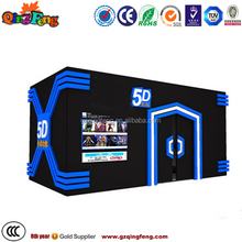 Qingfeng GTI promotion 3d cinema system fun movie 5d cinema equipment