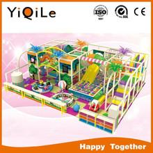 Attractive!!! Indoor kids plastic castle slide