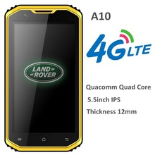 Tough smartphone IP68 5.5inch 4G LTE Qualcomm MSM8916 RAM 1GB ROM 8G Android 4.4.4 Quad Core waterproof rugged mobile phone
