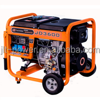 CE Approved Open Type Diesel Generator air cooled high quality