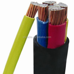 PVC sheath 3 core 4 core copper or aluminum all kinds of power cable