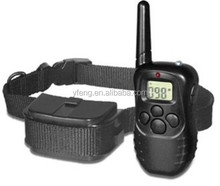 Newer 300M Range LCD Remote Shock Control Pet Dog Training Collar with 100 Level Static Shock