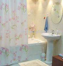 a prueba de agua de la cortina de la ducha con el patrón impreso