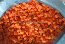 American IQF frozen Carrot dices(FDA,HALAL,HACCP,ISO)