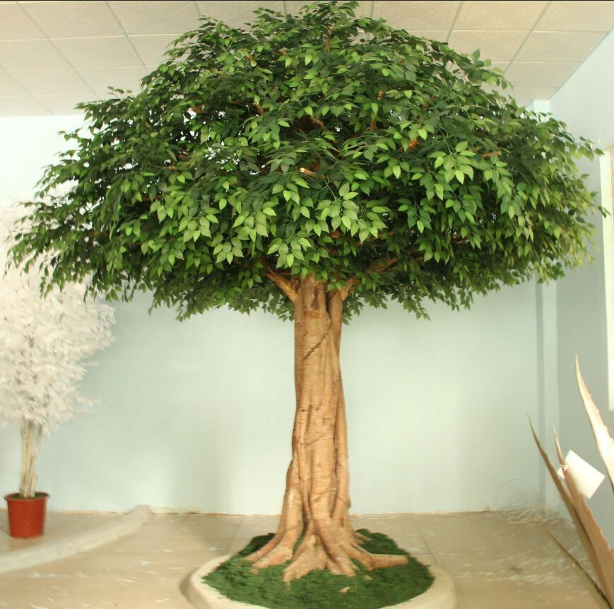 High quality artificial ficus tree indoor decoration for Artificial trees for decoration
